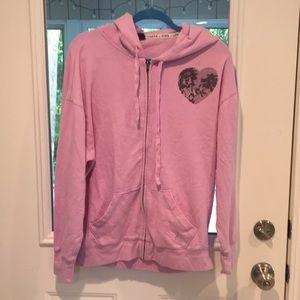 Victoria's Secret pink cardigan